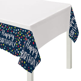 A Reason to Celebrate Plastic Table Cover