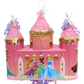 Pinata - Pull Disney Princess Castle