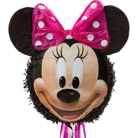 Pinata - Pull Minnie Mouse Head