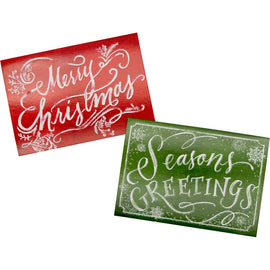Xmas Cards - Merry / Greetings