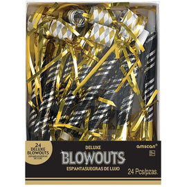 Deluxe Blowouts Multipack - Black, Gold, And Silver