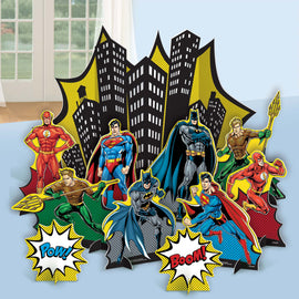 Justice League Heroes Unite (tm) Table Decoration