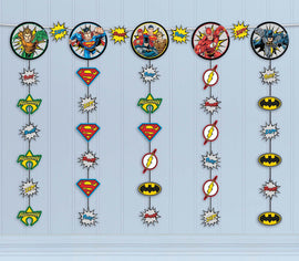 Justice League Heroes Unite (tm) Hanging String Decoration