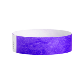 Wrist Ticket - 100Ct Purple 3/4""