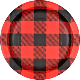 "9"" Plate - Buffalo Plaid"