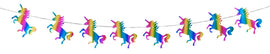 "Banner - 7"" Diamond Unicorn Rainbow"