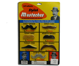 Moustaches - Stylish 7Ct