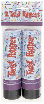 "Twist Poppers, 6"", 2ct"