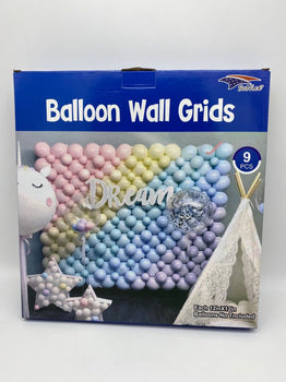 Balloon Wall Grid - 9Ct