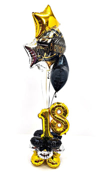 Helium Balloon Bouquet - Milestone Birthday