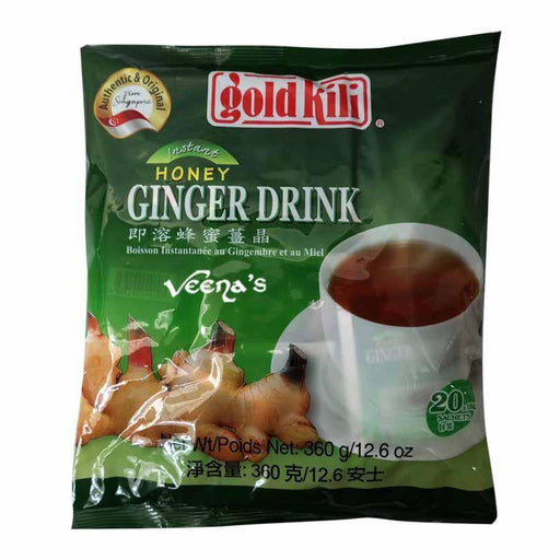 Gold Kili Honey Ginger Drink 360G - veenas.com