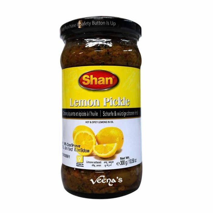 Shan Lemon Pickle 300g - veenas.com