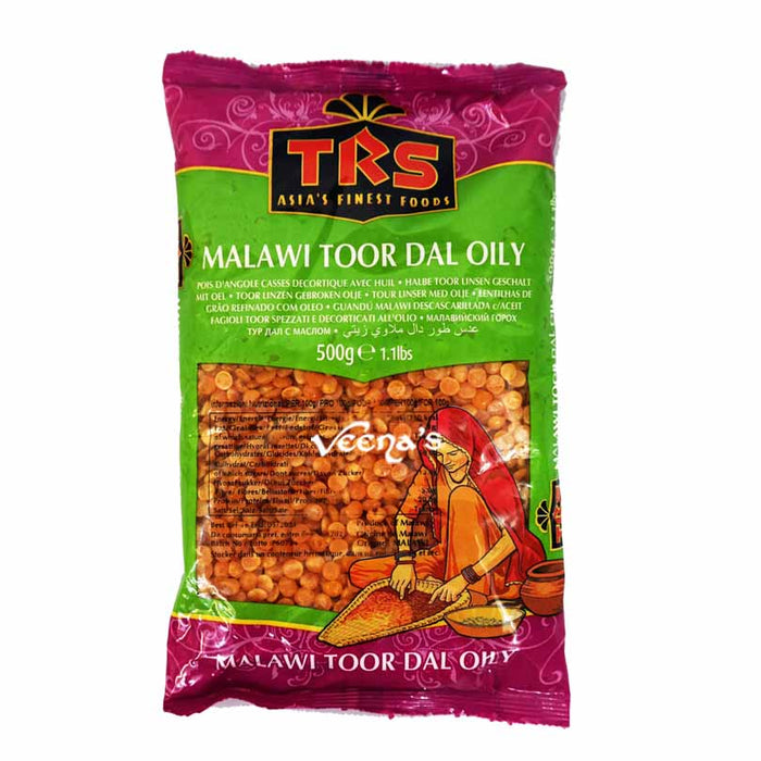 TRS Malawi Toor Dal (Oily)