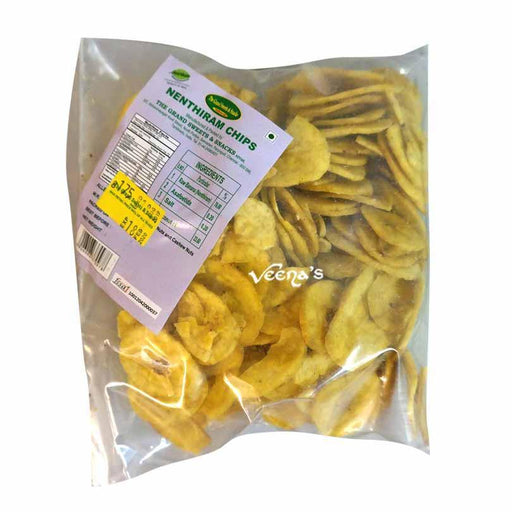 The Grand Sweets Nenthiram Banana Chips 150G - veenas.com