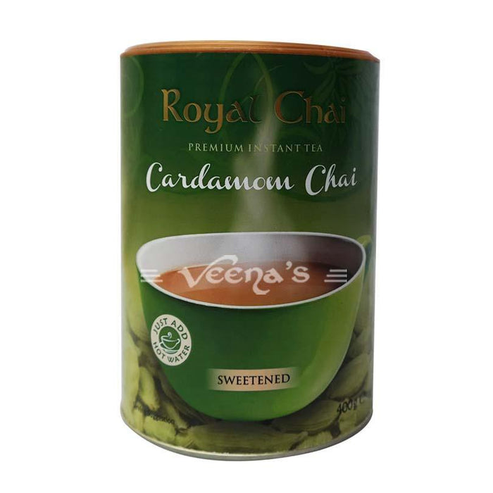 Royal Chai Cardamom Sweetened 400g - veenas.com