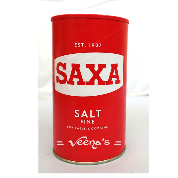 Saxa Table Salt Fine Drum 750G