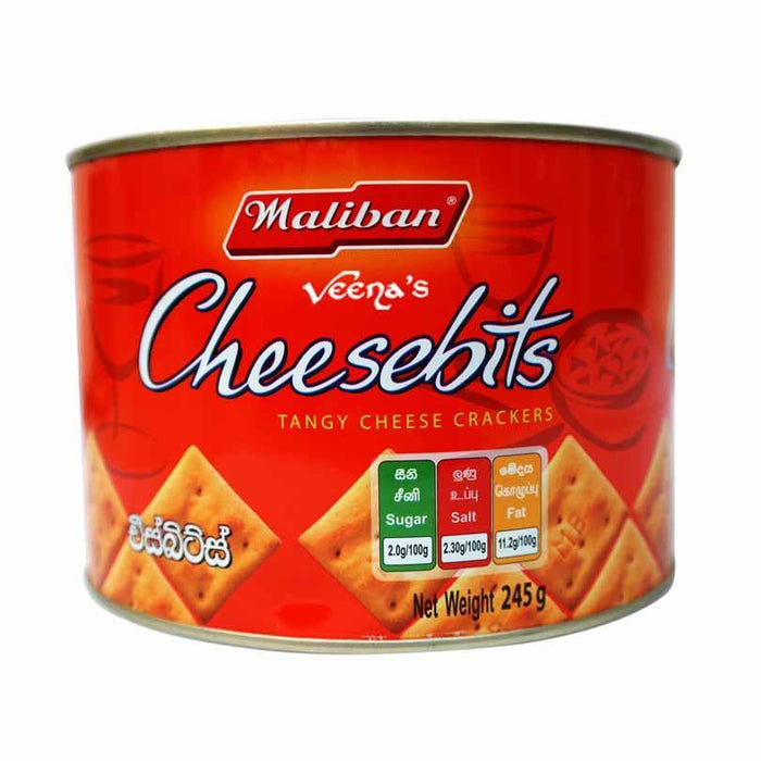 Maliban Cheesebits 245g - veenas.com