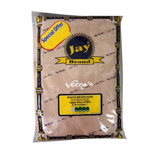 Jay Brand Roasted Red Rice Flour 3.6kg - veenas.com