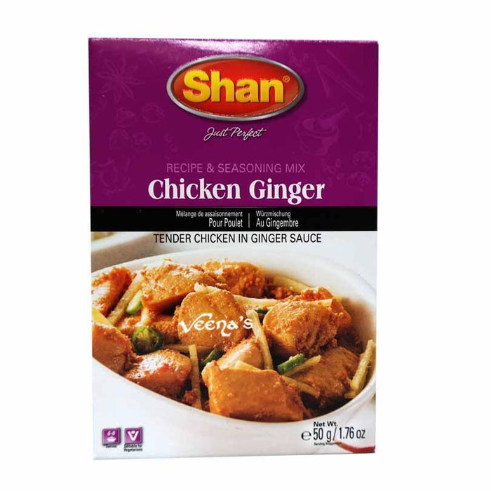 Shan Mix Chicken Ginger 50g - veenas.com