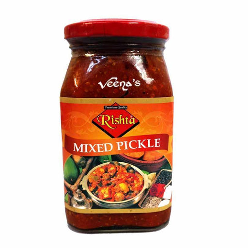Rishta Mixed Pickle 400g - veenas.com
