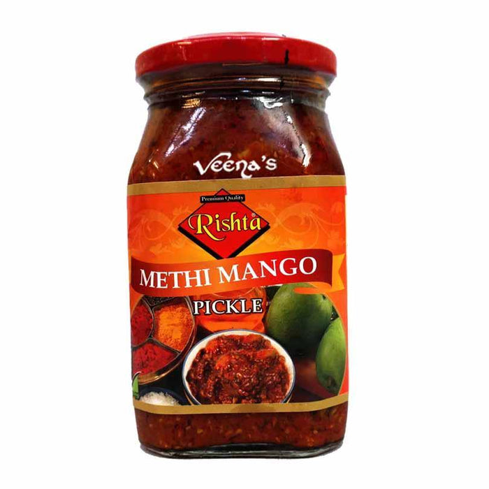 Rishta Methi Mango Pickle 400g - veenas.com