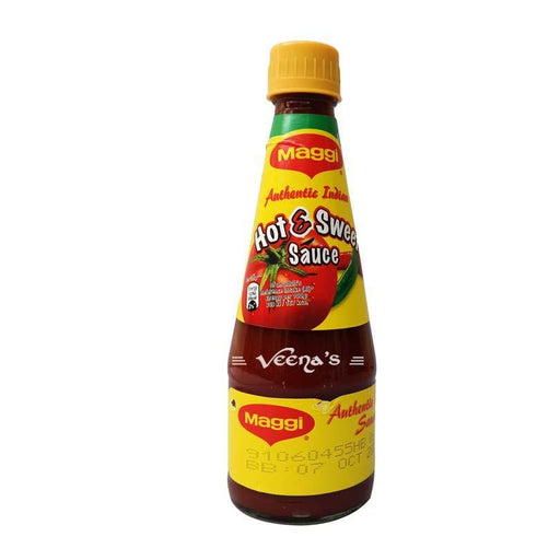 Maggi Hot & Sweet Sauce 400gm - veenas.com