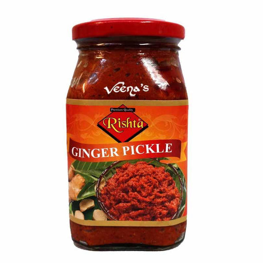 Rishta Ginger Pickle 400g - veenas.com