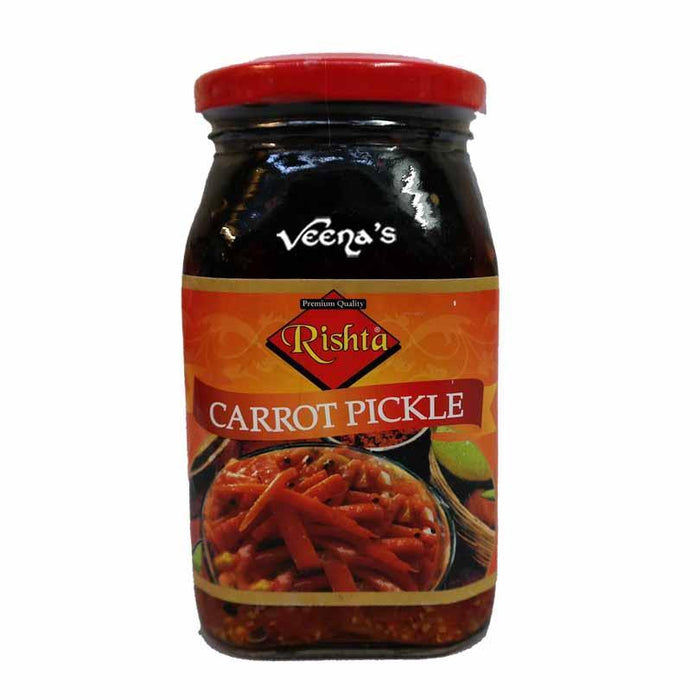 Rishta Carrot Pickle 400g - veenas.com