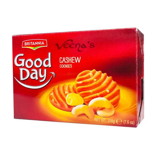 Britannia Good Day Cashew Cookies 216g - veenas.com