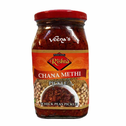 Rishta Channa Methi Pickle 400g - veenas.com