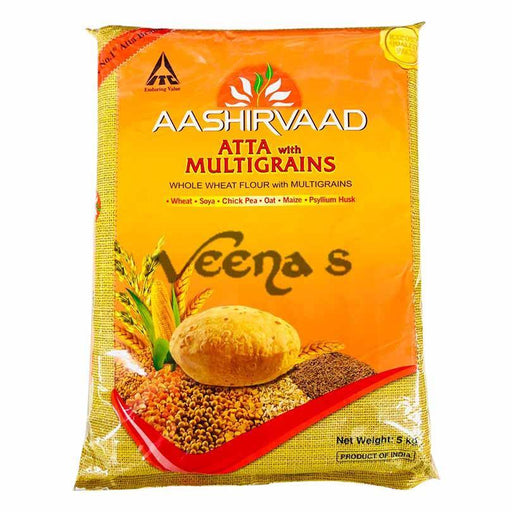 Aashirvaad Atta with Multigrains - veenas.com