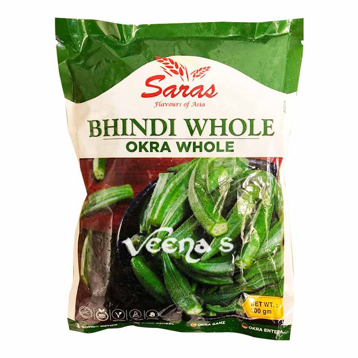 Saras Bhindi (Okra Whole) 300g
