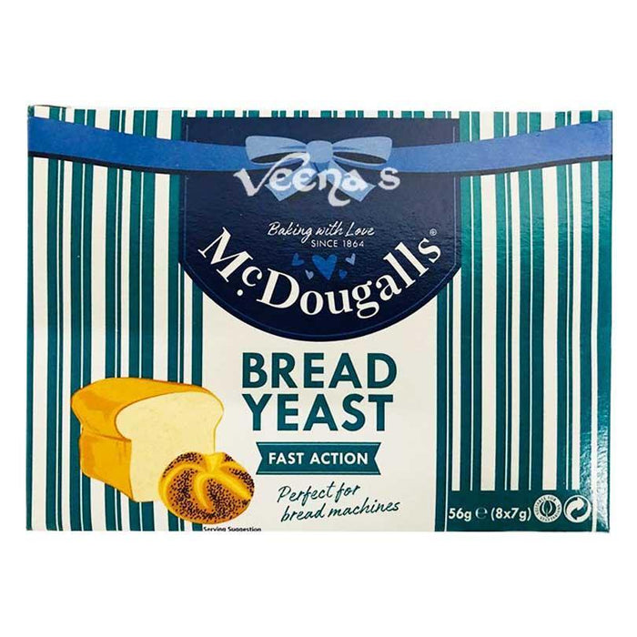 McDougall's Bread Yeast 56g