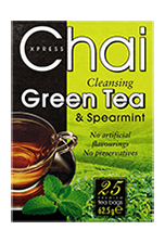 Chai Cleansing Green Tea 25 Bags - veenas.com