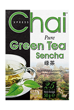 Chai Pure Green Tea 25 Bags - veenas.com