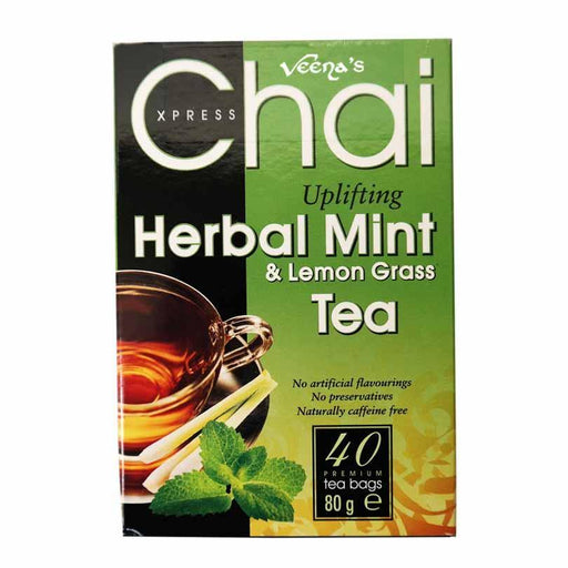 Chai Herbal Mint 40 Tea Bags - veenas.com