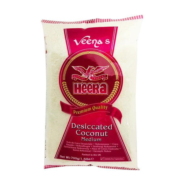 Heera Desiccated Coconut Medium 700gm - veenas.com
