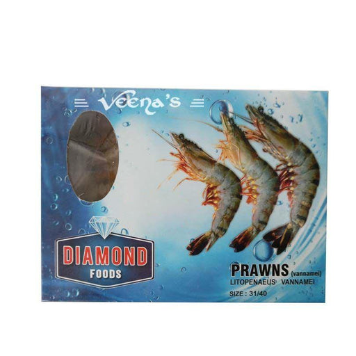 Diamond Prawn 31/40 600g - veenas.com