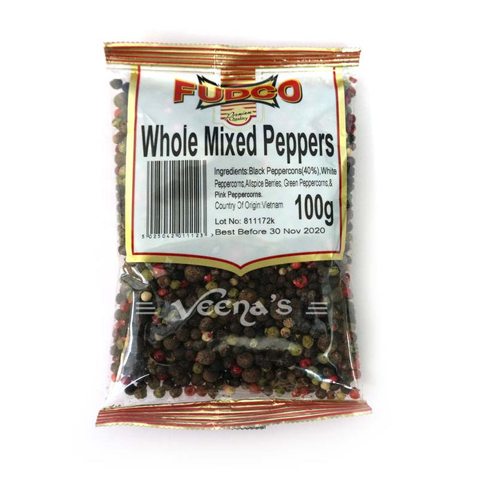 Fudco Mixed Peppers(w) 100g