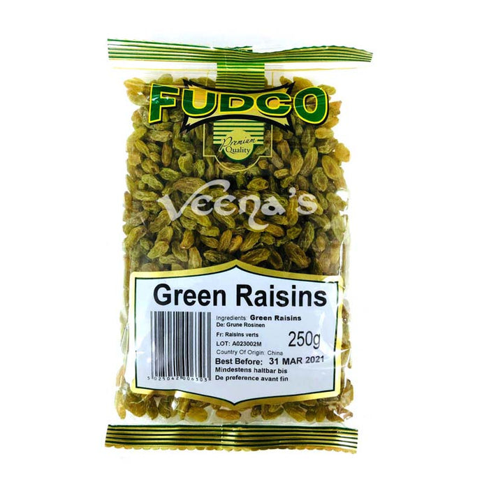 Fudco Raisins Green