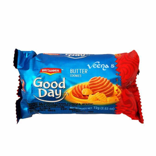 Britannia Good Day Butter Cookies 72g - veenas.com