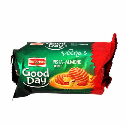 Britannia Good Day Pista Almond 72g - veenas.com