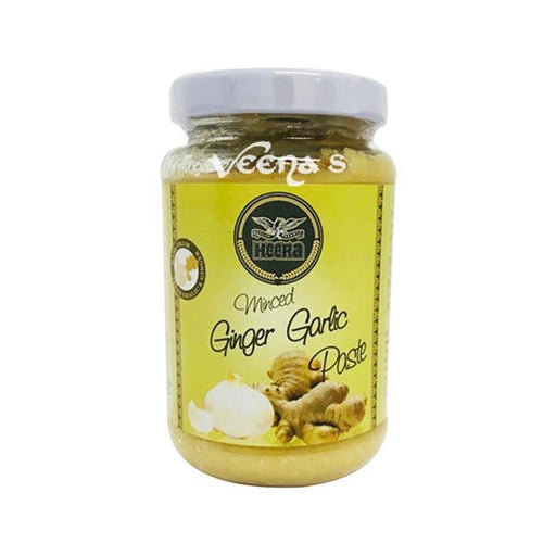 Heera Minced Ginger Garlic Paste 210g - veenas.com