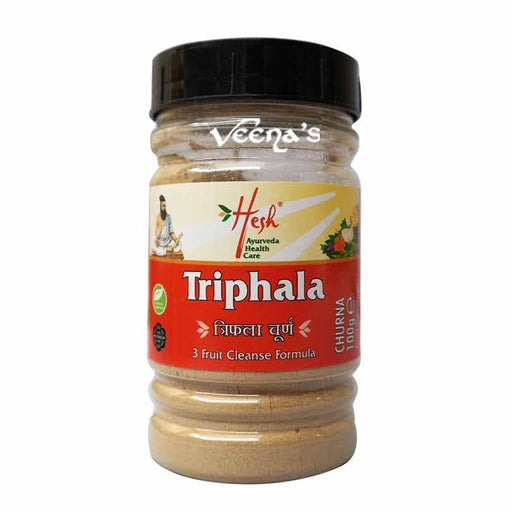 Hesh Triphala Churna Bottle 100g - veenas.com
