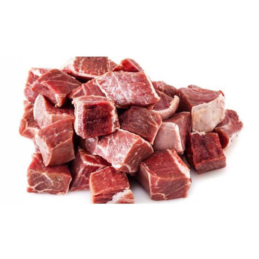 Fresh 100% Halal Diced Mutton Shoulder (With Bone) - veenas.com