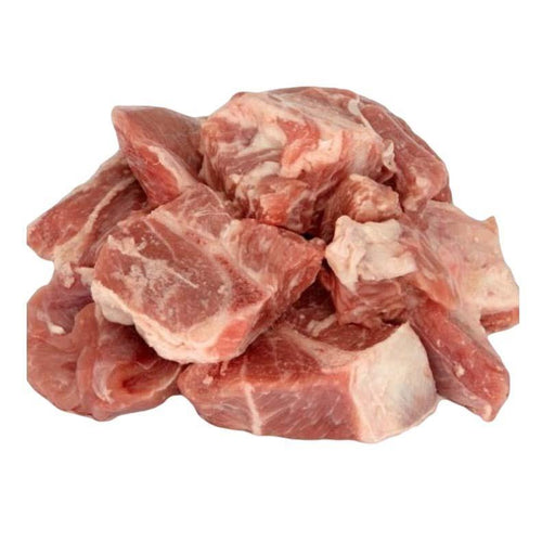 Fresh 100% Halal Diced Mutton Leg (With Bone) - veenas.com