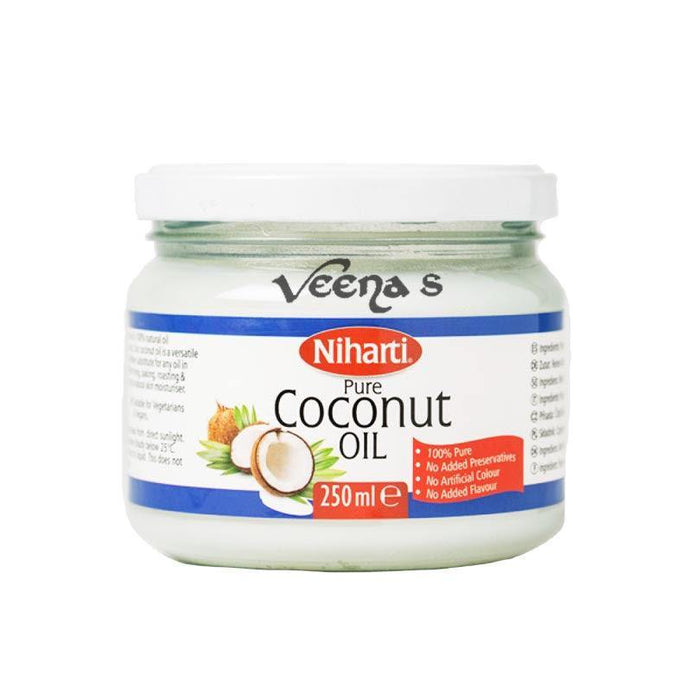 Niharti Pure Coconut Oil 250ML - veenas.com