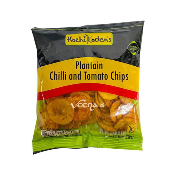 Kozhikoden's Plantain Chilli and Tomato Chips 100g