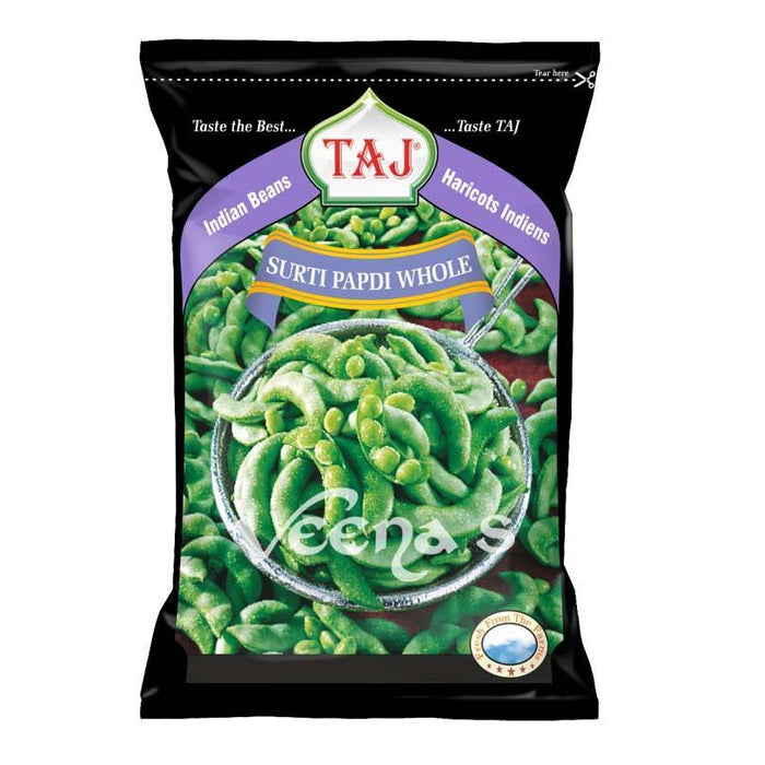 Taj Surti Papdi Whole 300gm - veenas.com
