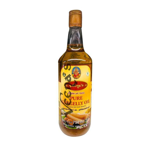 Veenas Sesame Oil 750ml (Pet bottle) - veenas.com